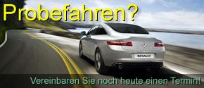 Renault Authohaus Remscheid - Probefahrt