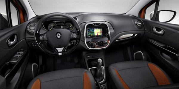 Renault Captur – Cockpit