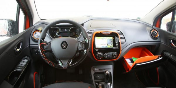 Renault Captur – Cockpit