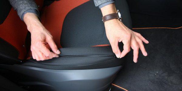 Renault Captur – Sitze