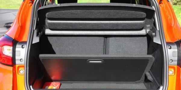 Renault Captur – Kofferraum