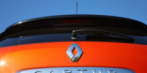 Renault Captur – Heckansicht