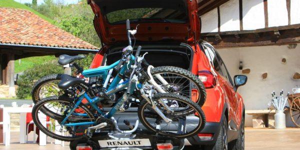 Renault Captur – Fahrradträger