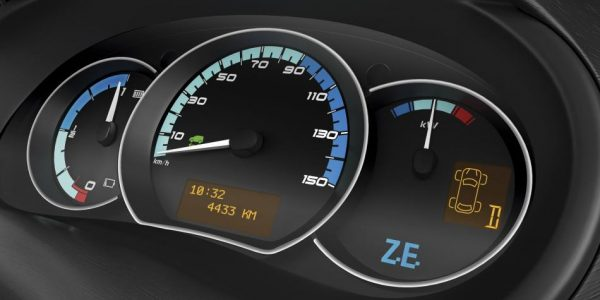 Renault Kangoo Z.E. – Anzeigeinstrumente