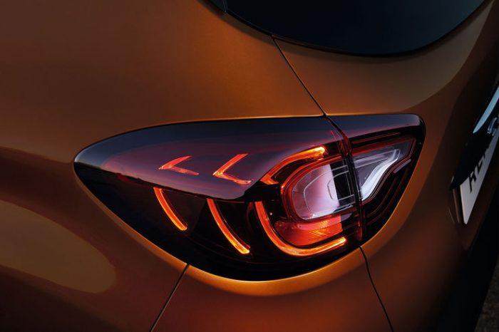 Renault Captur-Rückleuchte