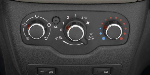 Dacia Logy – Mittelkonsole