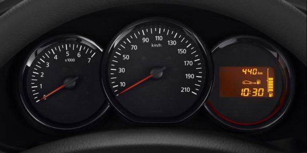 Dacia Logy – Anzeigentafel