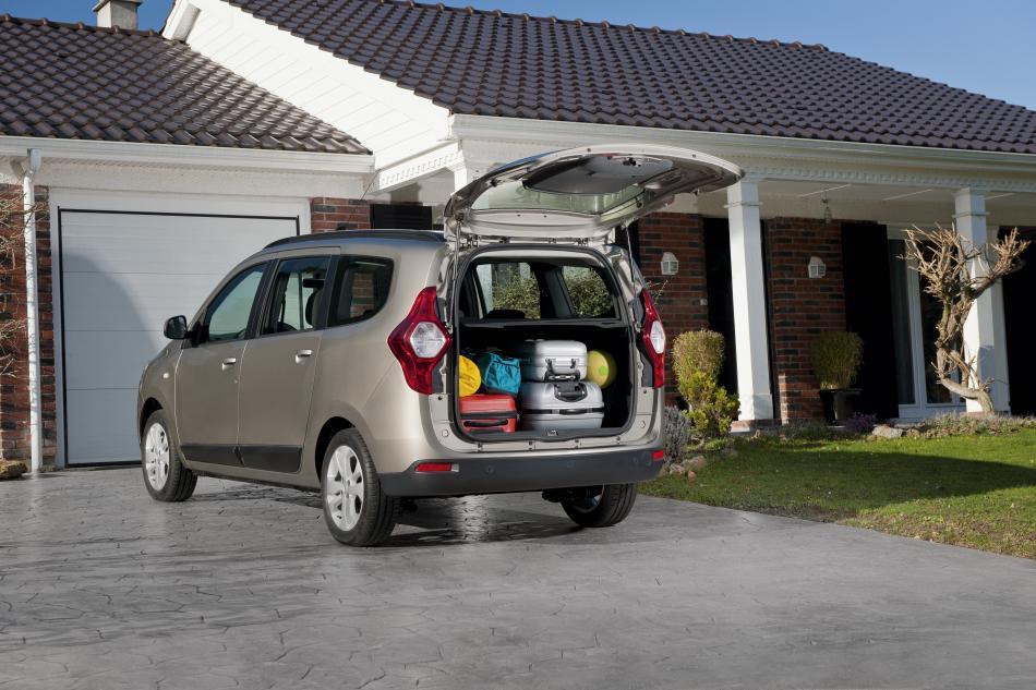 Dacia Lodgy - Kofferraum