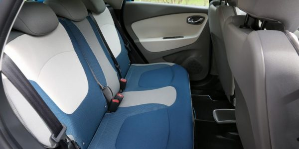 Renault Captur – Rücksitze