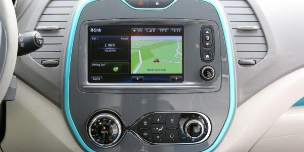 Renault Captur – Navigation